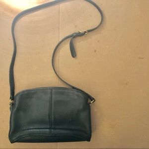 Coach Vintage dark green crossbodybag